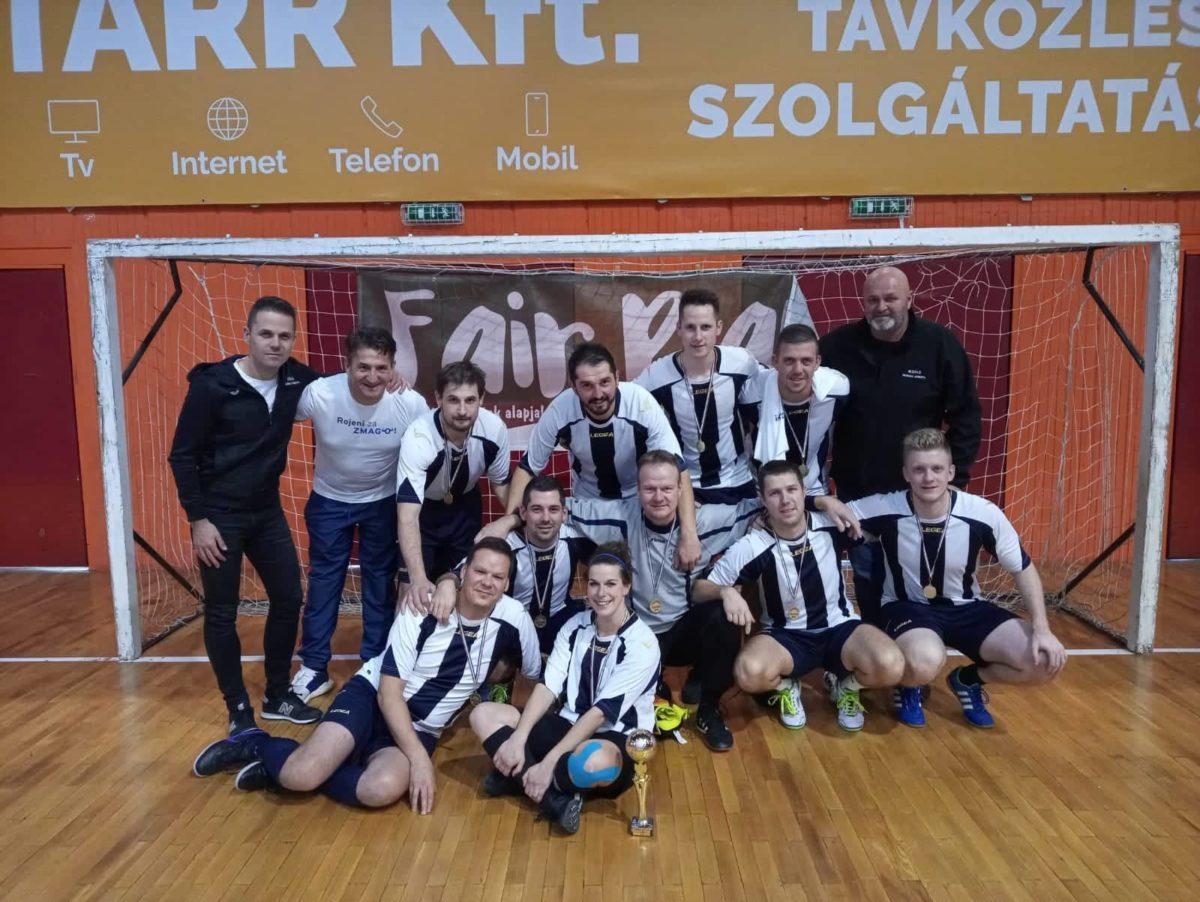 2. mesto sodnikov na prijateljskem turnirju na Madžarskem